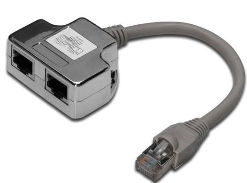 Digitus CAT 5E Data/Data Splitter image