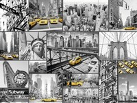 Ravensburger : New York Cabs Puzzle 1500pc