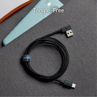 ZUS Super Duty Micro USB Cable Right Angle 4ft/1.2m