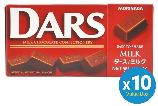Morinaga Dars Milk Chocolate 42g 10pk