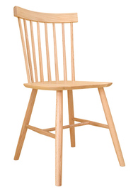 Windsor American Solid Oak Dining Chair -(Set of 2)