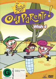 Fairly Odd Parents: Wish 4 on DVD image