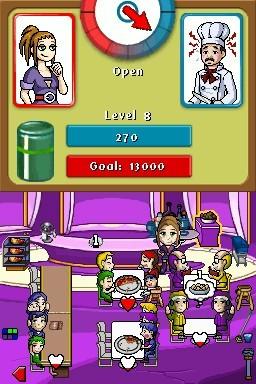 Diner Dash for Nintendo DS image