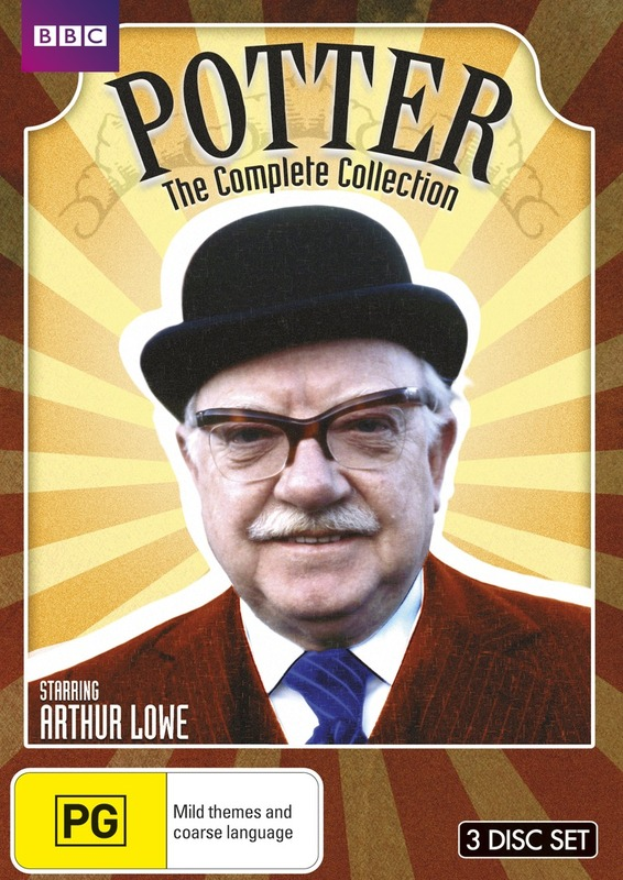 Potter: The Complete Series 1 -3 on DVD