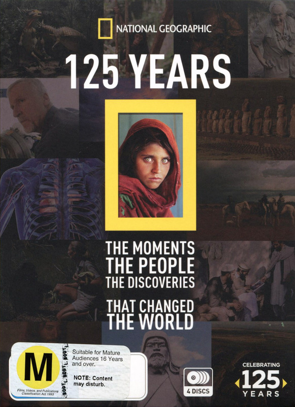 National Geographic: 125th Anniversary Collection on DVD