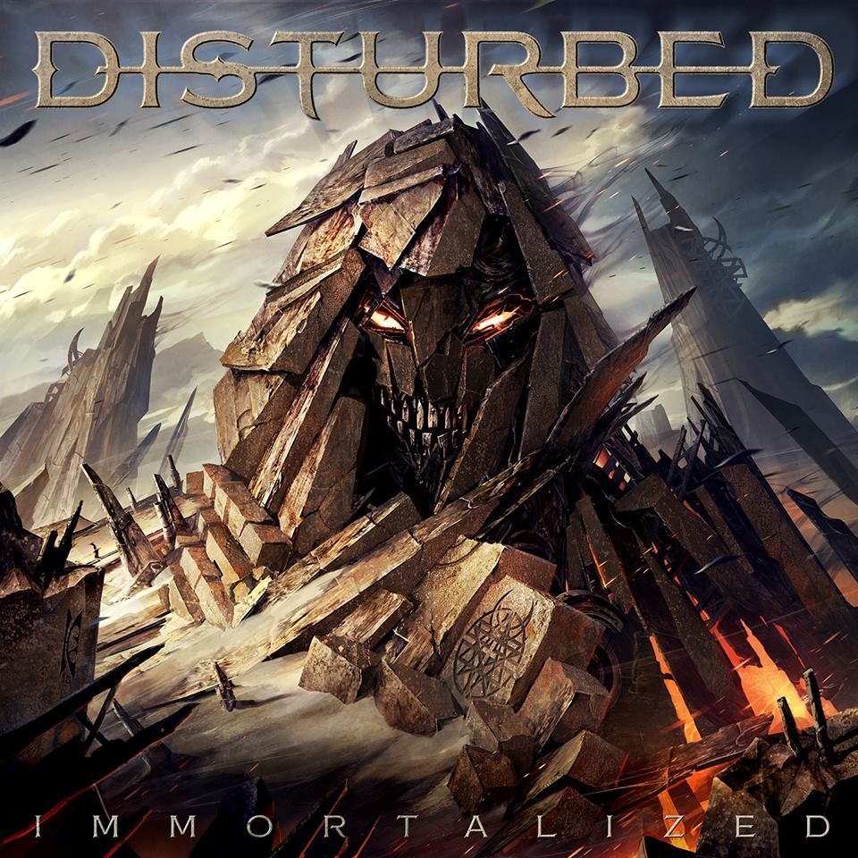 Immortalized (Deluxe Edition) by Disturbed image