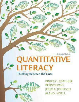 Quantitative Literacy by Bruce Crauder