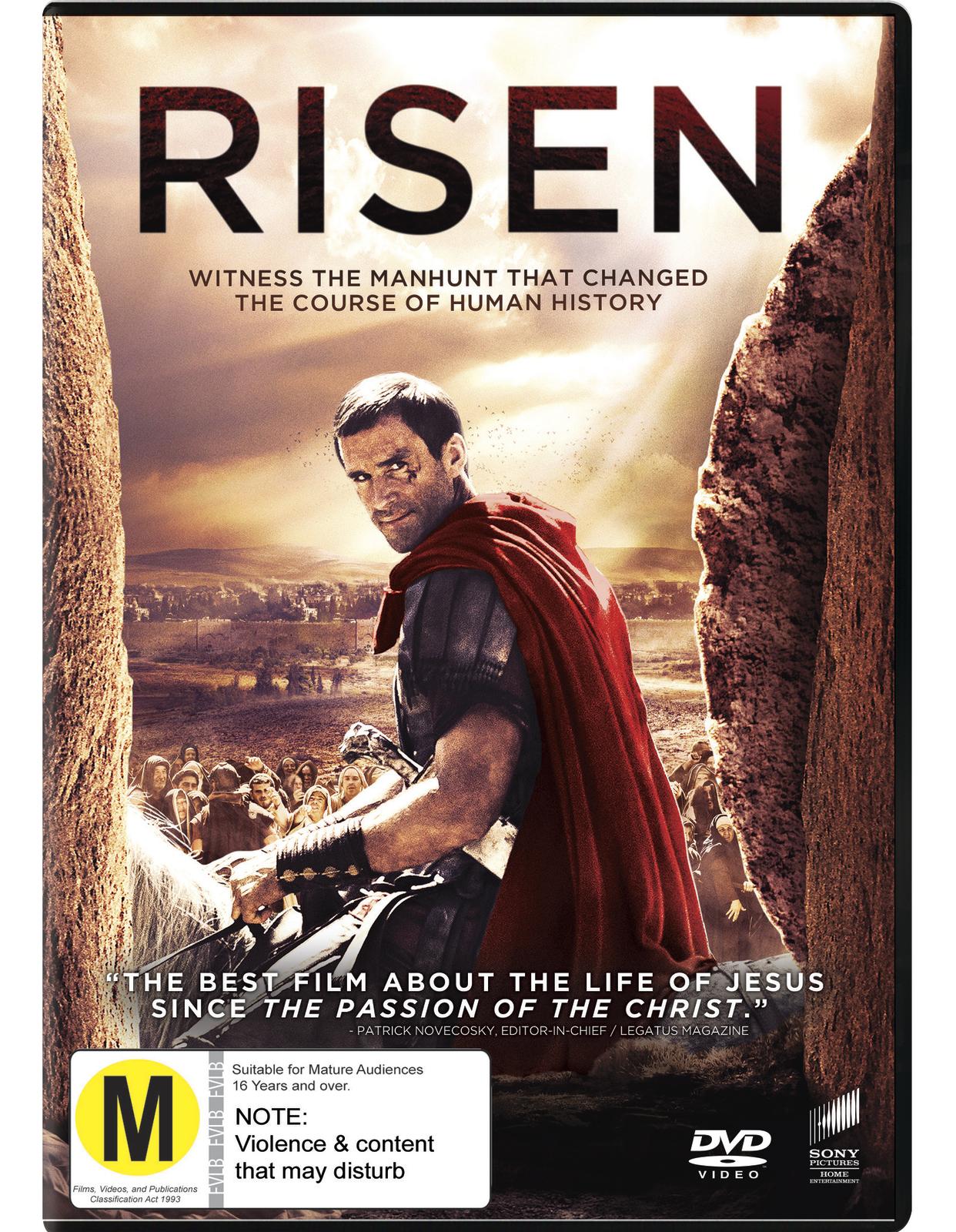 Risen on DVD image