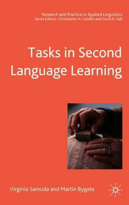 Tasks in Second Language Learning by Virginia Samuda image