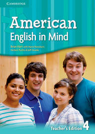 American English in Mind Level 4 Teacher's Edition by Herbert Puchta