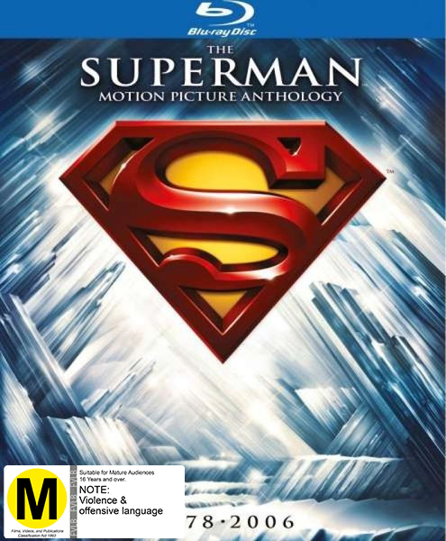 Superman Ultimate Collectors Edition on Blu-ray image
