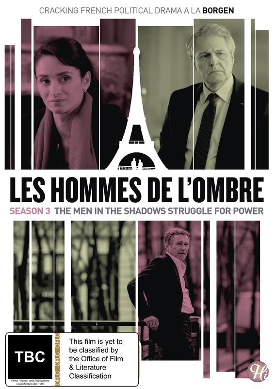 Les Hommes De L'ombre (The Shadow Men) Season 3 on DVD