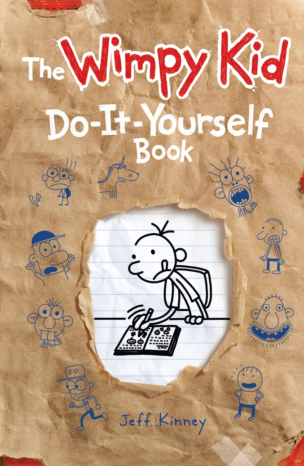 Diary of a Wimpy Kid - Do-it-yourself Book: Vol 2 by Jeff Kinney image