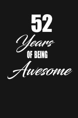 52 years of being awesome by Nabuti Publishing image