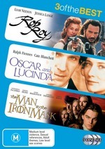Rob Roy / Oscar And Lucinda / Man In The Iron Mask (1998) - 3 Of The Best (3 Disc Set) on DVD