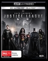 Zack Snyder's Justice League (4K UHD + Blu-Ray) on UHD Blu-ray