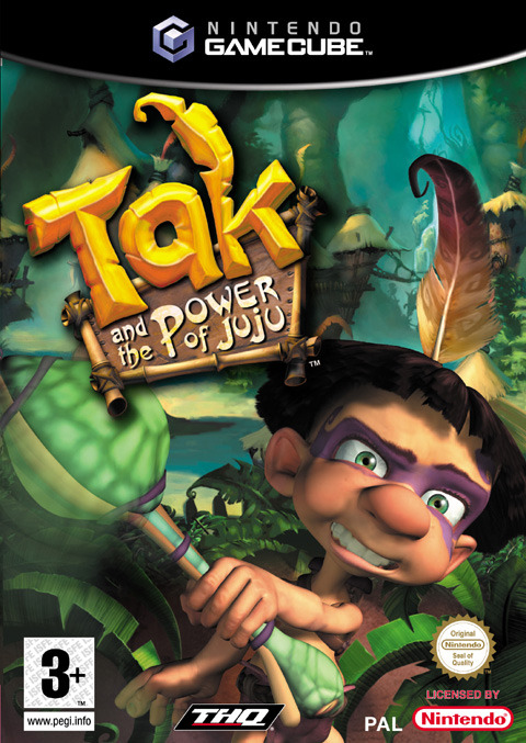 Tak and the Power of JuJu for GameCube