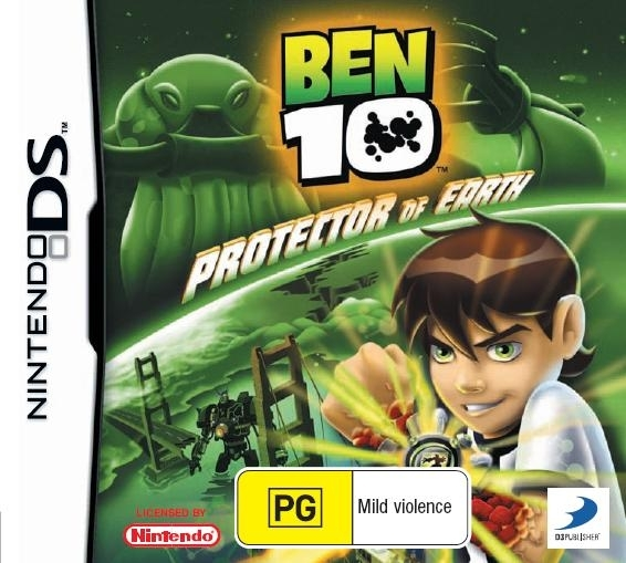 Ben 10 Protector of the Earth for Nintendo DS