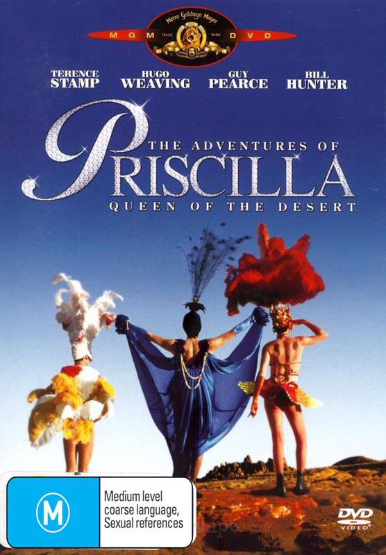 The Adventures of Priscilla Queen of the Desert on DVD