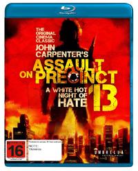 Assault on Precinct 13 on Blu-ray