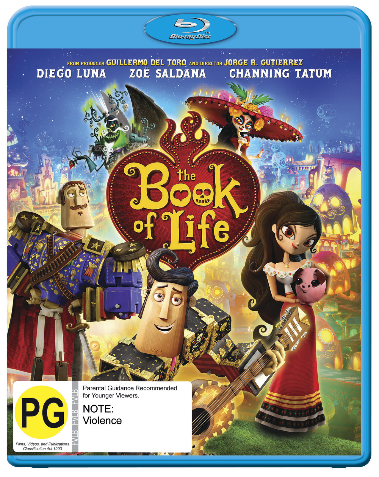 The Book Of Life on Blu-ray image