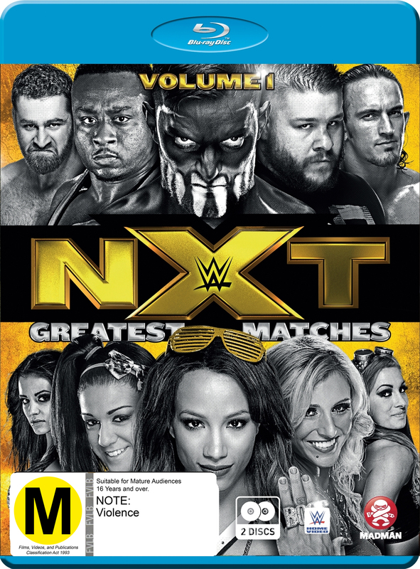 WWE: NXT's Greatest Matches - Volume 1 on Blu-ray