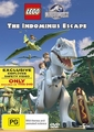 Lego Jurassic World: The Indominus Escape on DVD