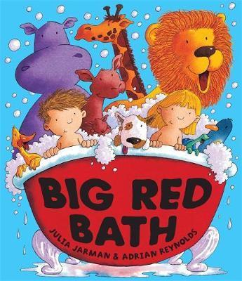 Big Red Bath Big Book by Julia Jarman image