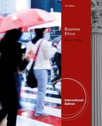 Business Ethics by William H Shaw image