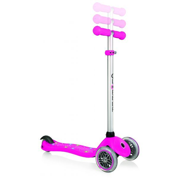 Globber: Primo Starlight Scooter - Deep Pink image