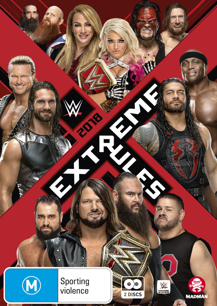 WWE: Extreme Rules 2018 on DVD image