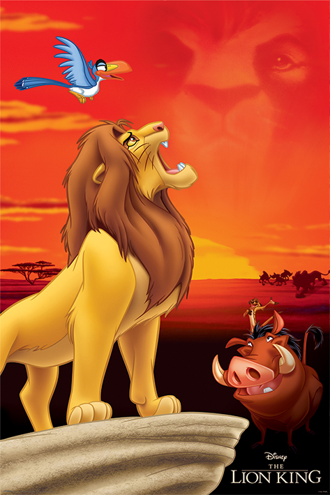 The Lion King Maxi Poster - King of Pride Rock (938)