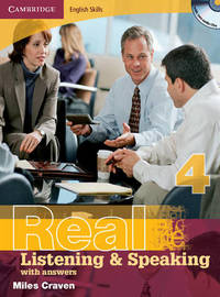 Cambridge English Skills Real Listening and Speaking 4 with Answers and Audio CD: Level 4 by Miles Craven