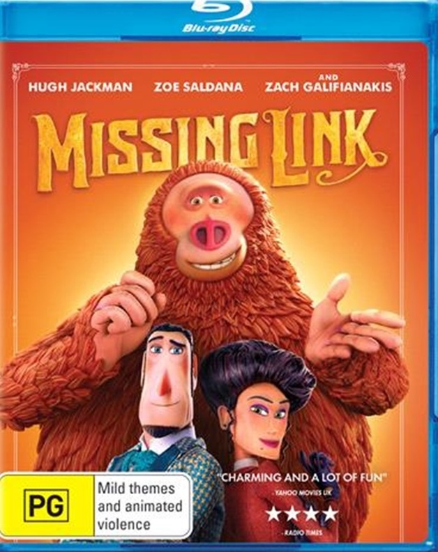 Missing Link on Blu-ray