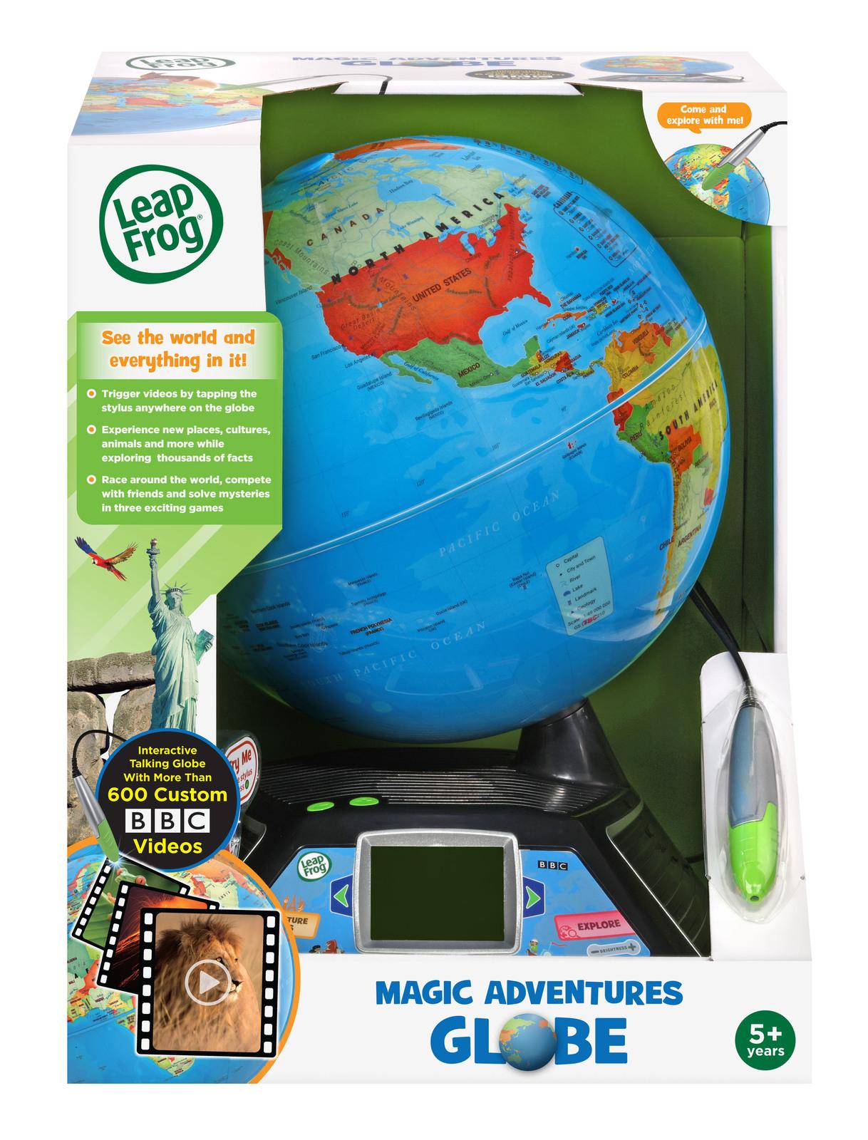 Leapfrog: Magic Adventures Globe - Interactive Learning Set image