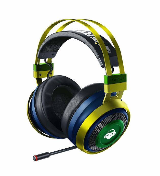 Razer Nari Ultimate Wireless Gaming Headset (Overwatch Lucio Edition) for PC
