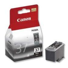 Canon Ink PG-37 Black Cartridge (219 Pages) image
