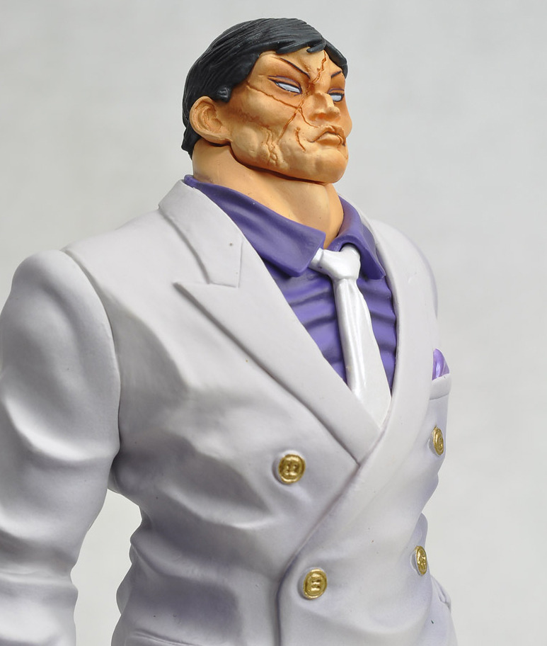Grappler Baki Figuarts ZERO Kaoru Hanayama PVC Figure