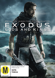 Exodus: Gods & Kings on DVD