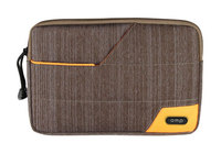 Omp Minerva Series Mini Tablet Sleeve - Brown/Orange