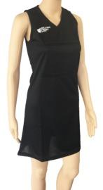 Silver Fern: Netball Dress - 2XL (Black)