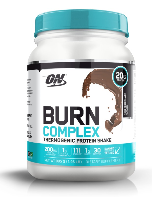 Optimum Nutrition: Burn Complex Thermogenic Protein - Chocolate (885g)