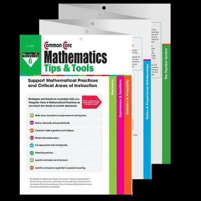 Common Core Math Tips & Tools Grade 6