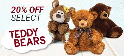 20% off select Bears!