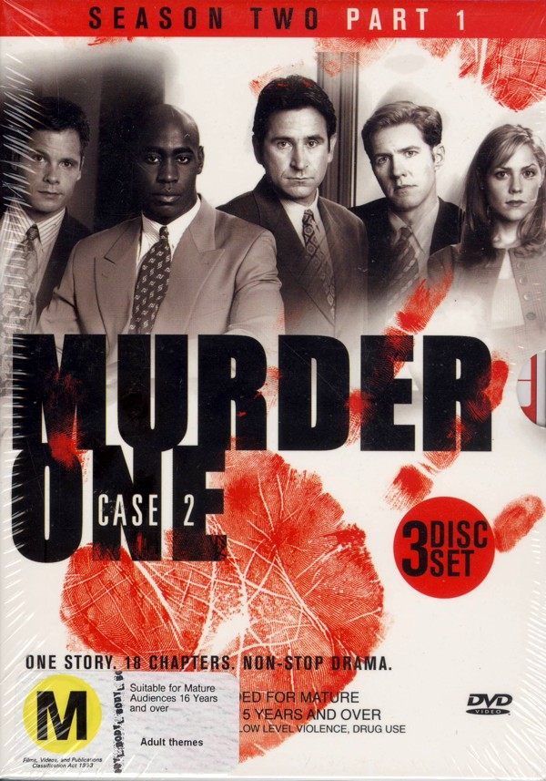 Murder One: Case 2 - Part 1 (3 Disc) on DVD image