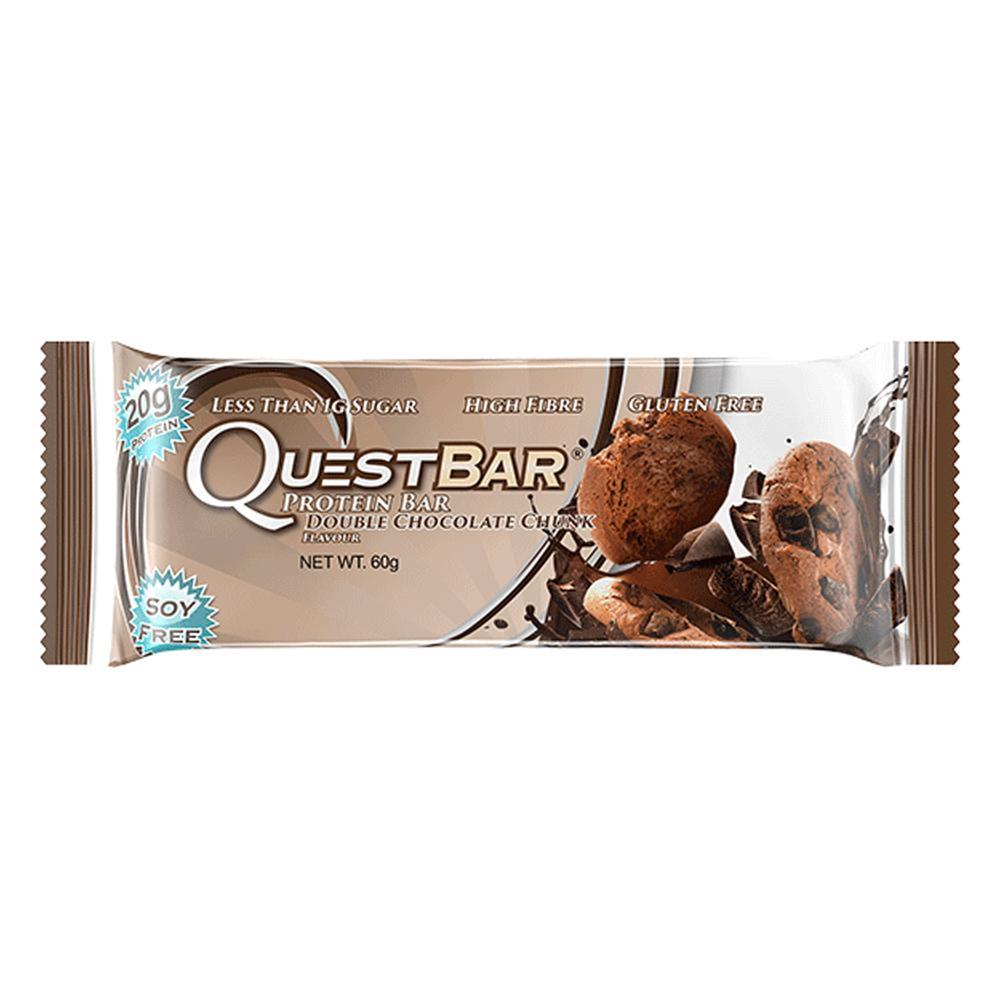 Quest Nutrition - Quest Bar Box of 12 (Double Chocolate Chunk) image