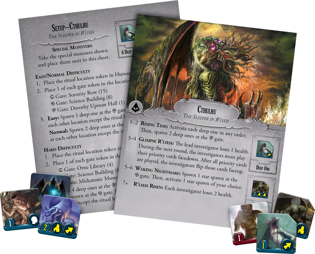 Arkham Horror: Final Hour - Board Game image