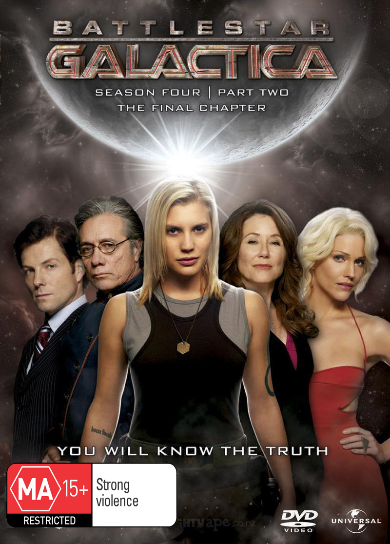 Battlestar Galactica - Season 4: Part 2 - The Final Season (4 Disc Set) on DVD image