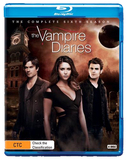 Vampire Diaries - Season 6 on Blu-ray