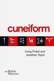 Cuneiform by Irving Finkel